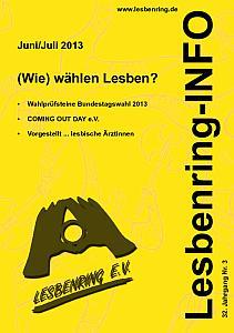 LesbenringInfo Juni / Juli 2013